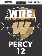Warren Football Custom Decal